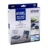 Epson 410XL  Black & Colour High Yield Ink Cartridge and Paper