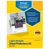 Marbig A5 Light Weight 100 Pack Sheet Protector