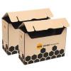 Marbig Enviro Flip Top Storage Twin Pack