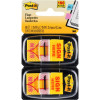 Post-It 3M 680-SH2 Sign Here Twin Pack