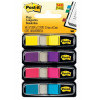 Post-It 3M 683-4AB Mini Flags Bright Colours 4 P
