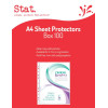 Sovereign A4 100 Pack Sheet Protectors