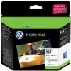 HP 564 Photo Value Triple Ink Cartridge and Paper Pack