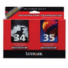 Lexmark 18C003435T - No.34 and 35 Twin pack